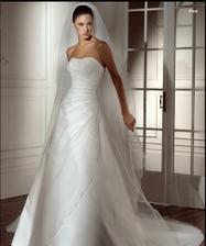 na predaj - takyto zavoj Ivory budem po svadbe predavat...