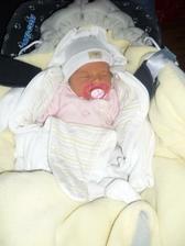 Nase druhe dievcatko - Katarina, prislo na svet 20.11 2010