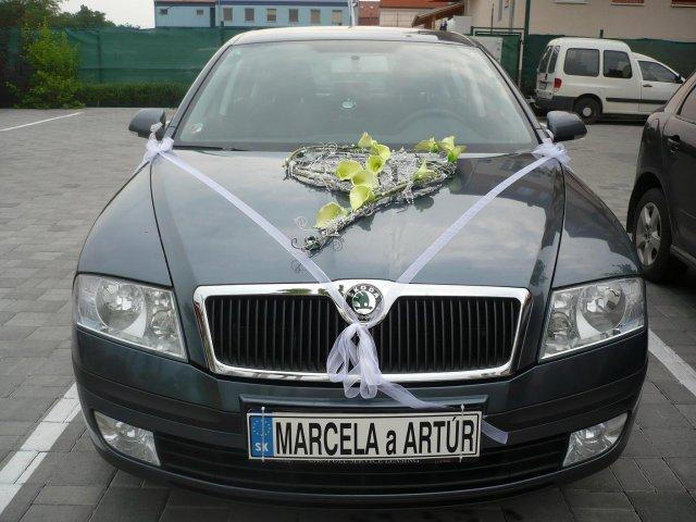 Marcela Dvoržáková{{_AND_}}Artúr Krull - naše svadobné autíčko