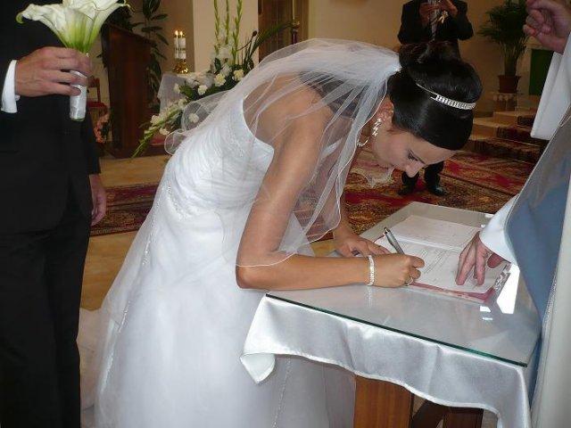 Prvý podpis ako Krullová  :-)