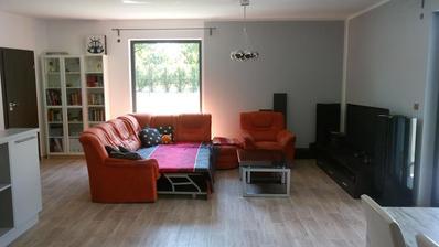 Obývák je zatím starý, nový bude až malý trochu povyroste :-)