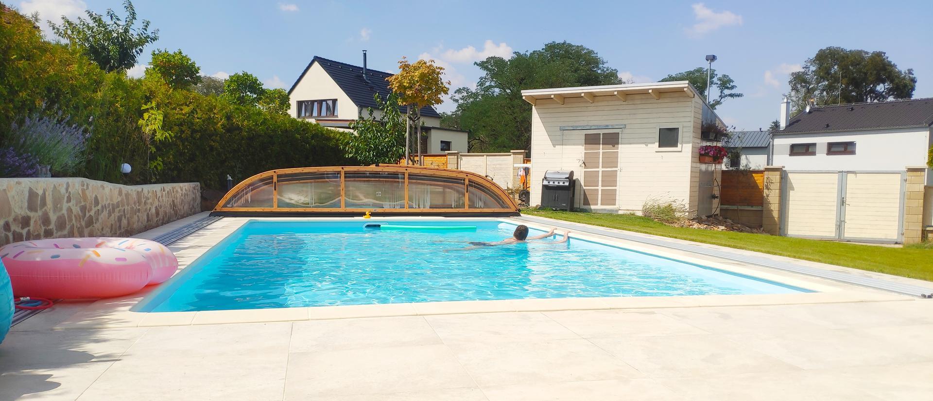 Stavba bazénu 8x4 - Obrázek č. 33