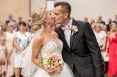 Nádherne svadobné šaty , 38