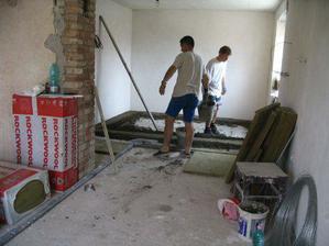 betonování podlah