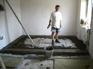 betonování podlah - to si mákli :-))