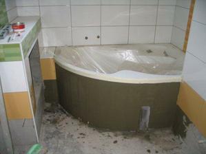 koupelna během práce