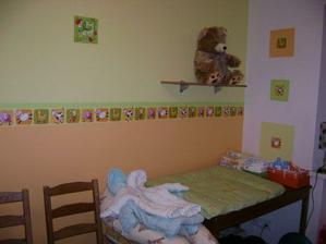 dětský pokojíček ....čeká na nového člena rodiny :-)