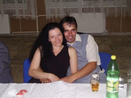 Stevko a Zuzka - na oslave 5O. vyrocia svadby mojich starych rodicov