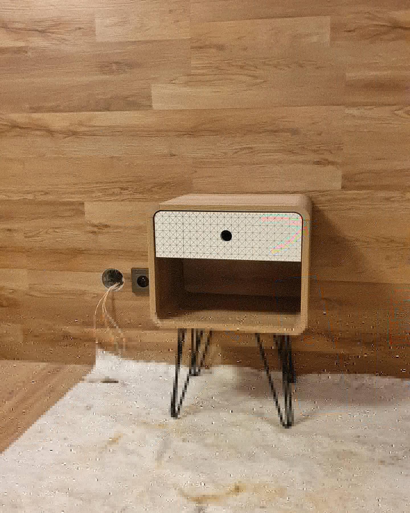 Pasivní domeček - Už i ja můžu přiložit ruku k dílu a aspoň skládám menší nábytek