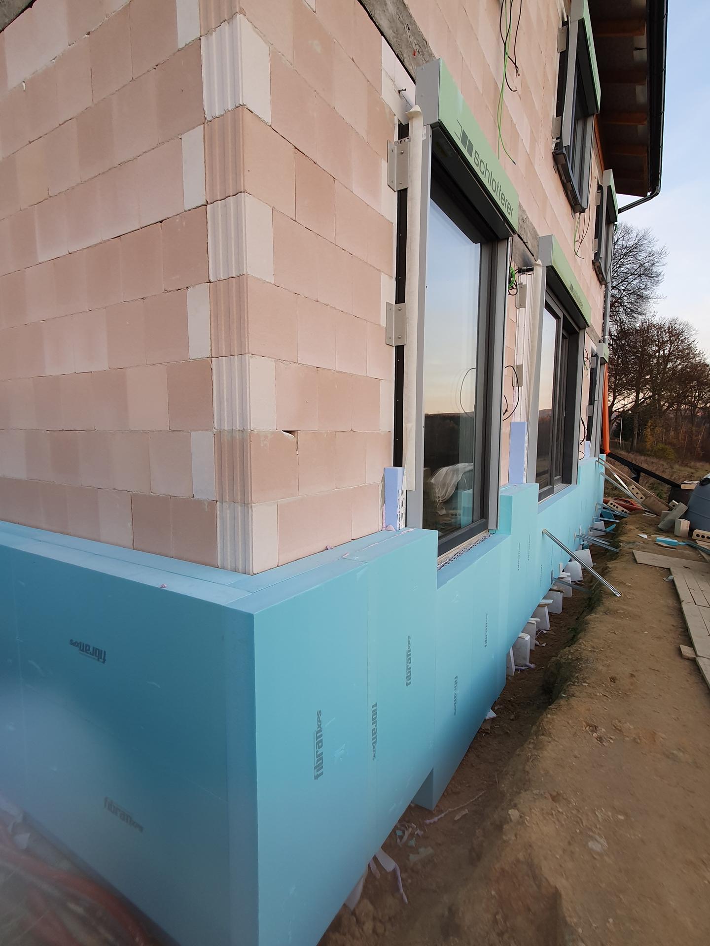Pasivní domeček - Začíná se s fasadou