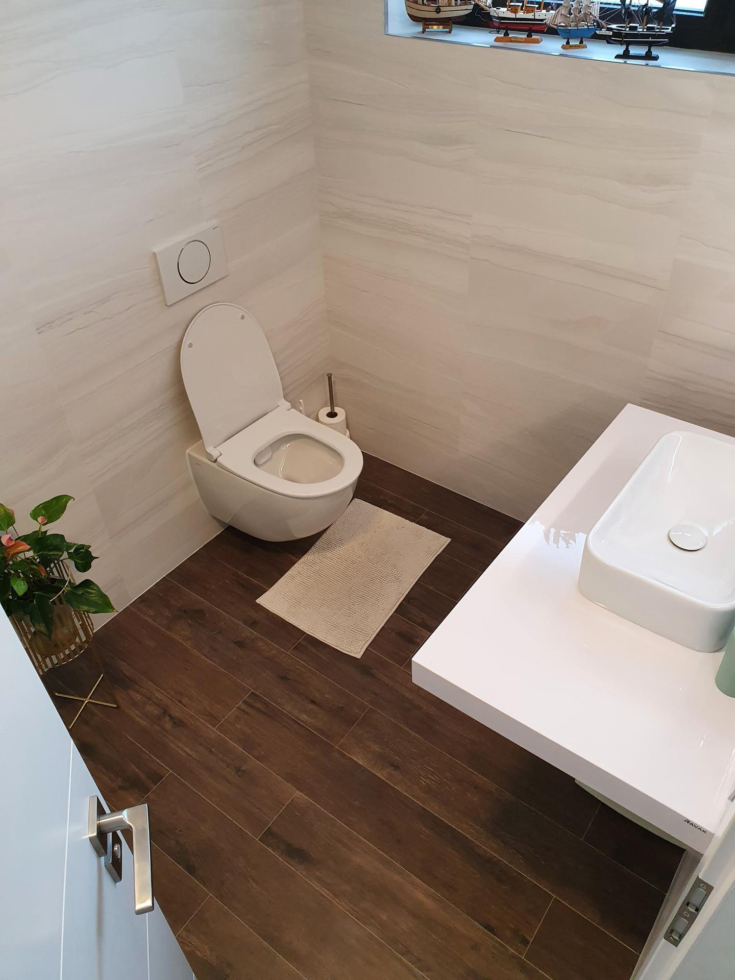 Pasivní domeček - Spodní koupelna