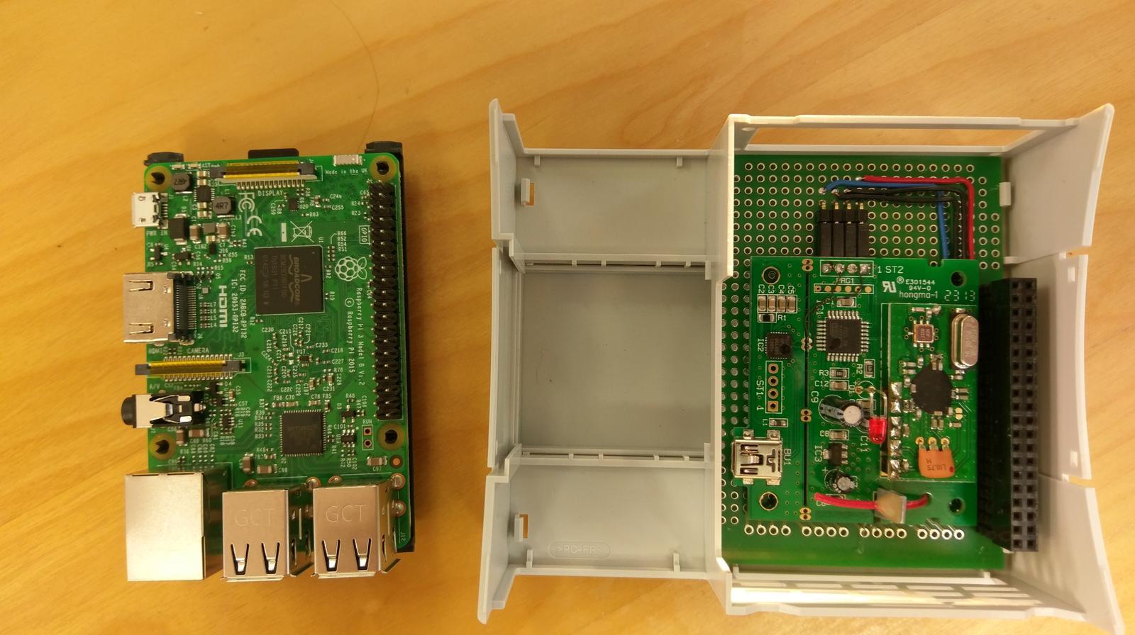 LogomatIQ - System s prijmacom meteo stanice