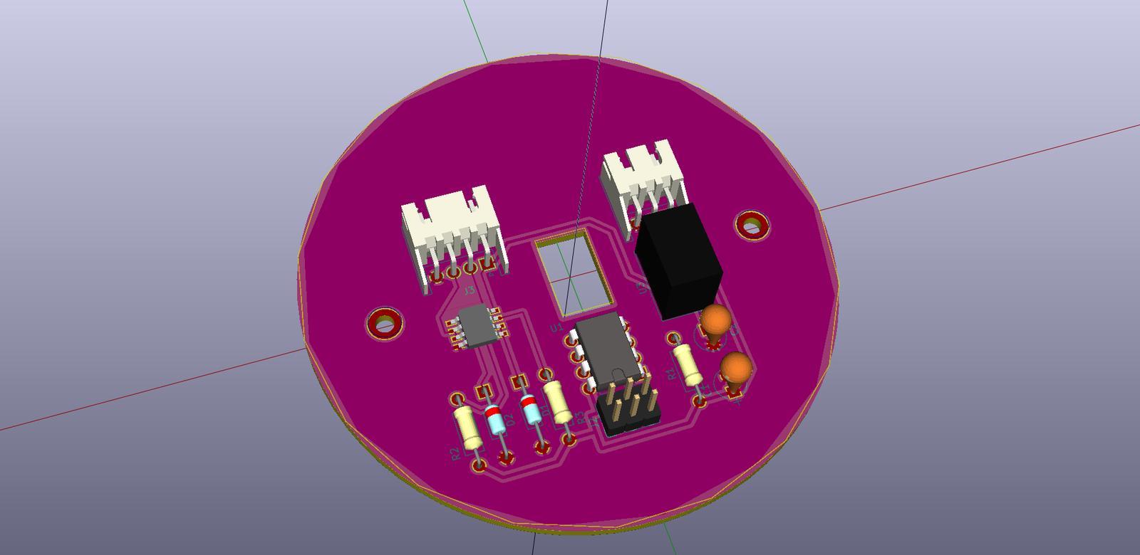 LogomatIQ - PCB prietokomera