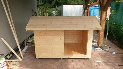 Konstrukcia strechy je fertig