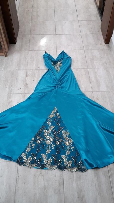 Spoločenské šaty na predaj veľkosť 40 - Obrázok č. 2