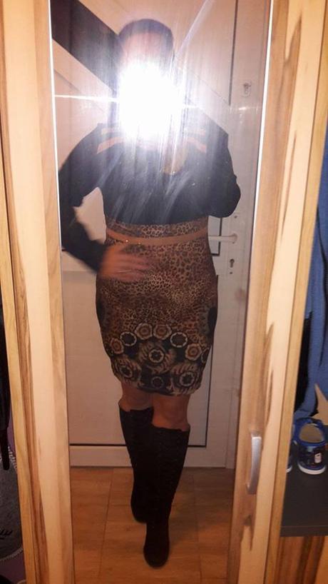 Sviatočné šaty s dlhým rukávom 42/XL - Obrázok č. 1