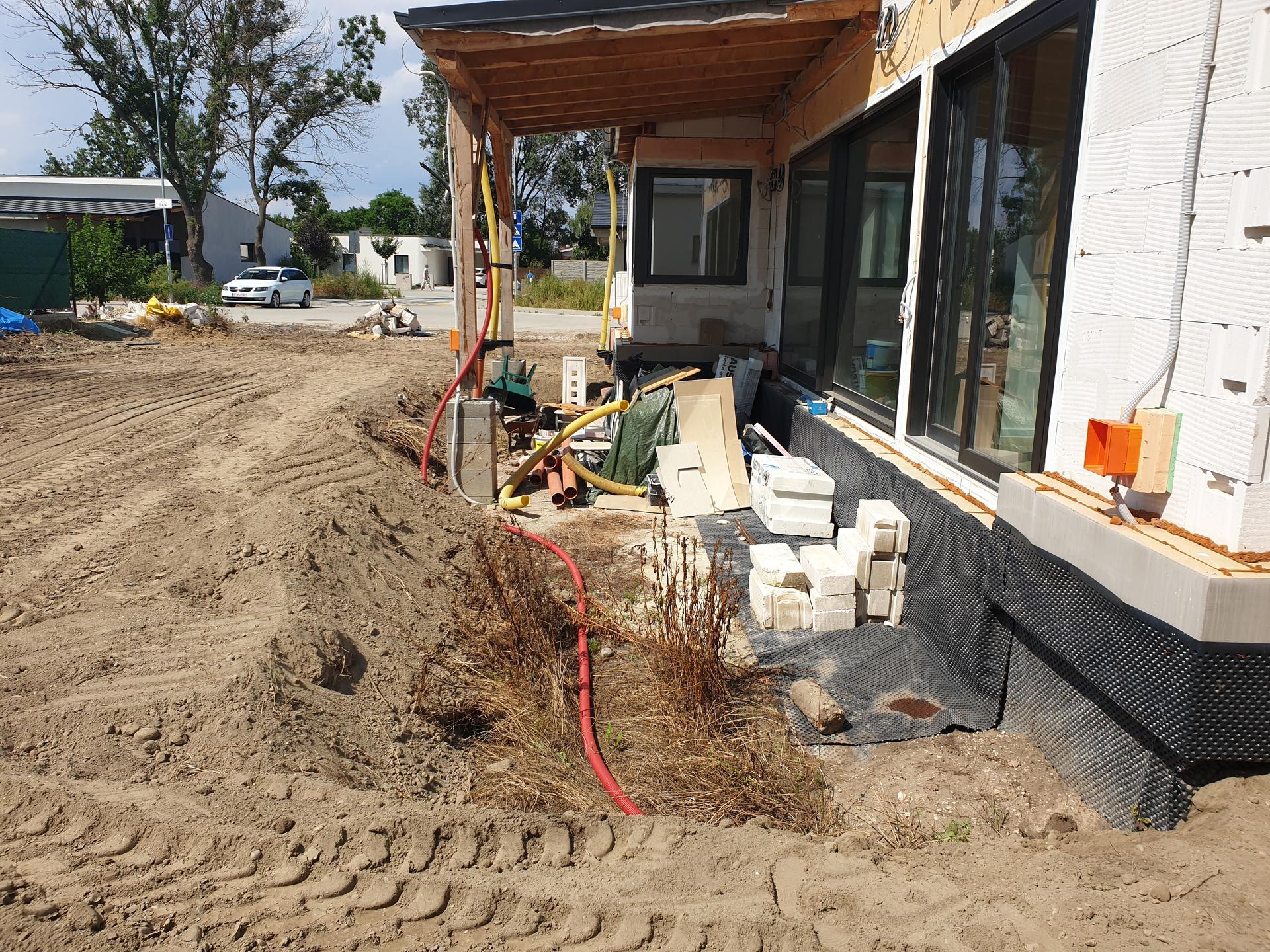 Dorabka pitnej vody k terase a filtra na prívode plus príprava na zmekcovac vody - Obrázok č. 2