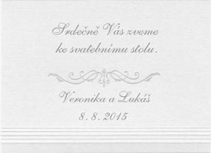 A pozvánka ke stolu.. :-)