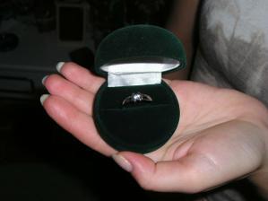 týmto to začalo :-) môj snubný prstienok
