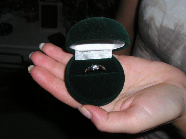 Moje predstavy - týmto to začalo :-) môj snubný prstienok