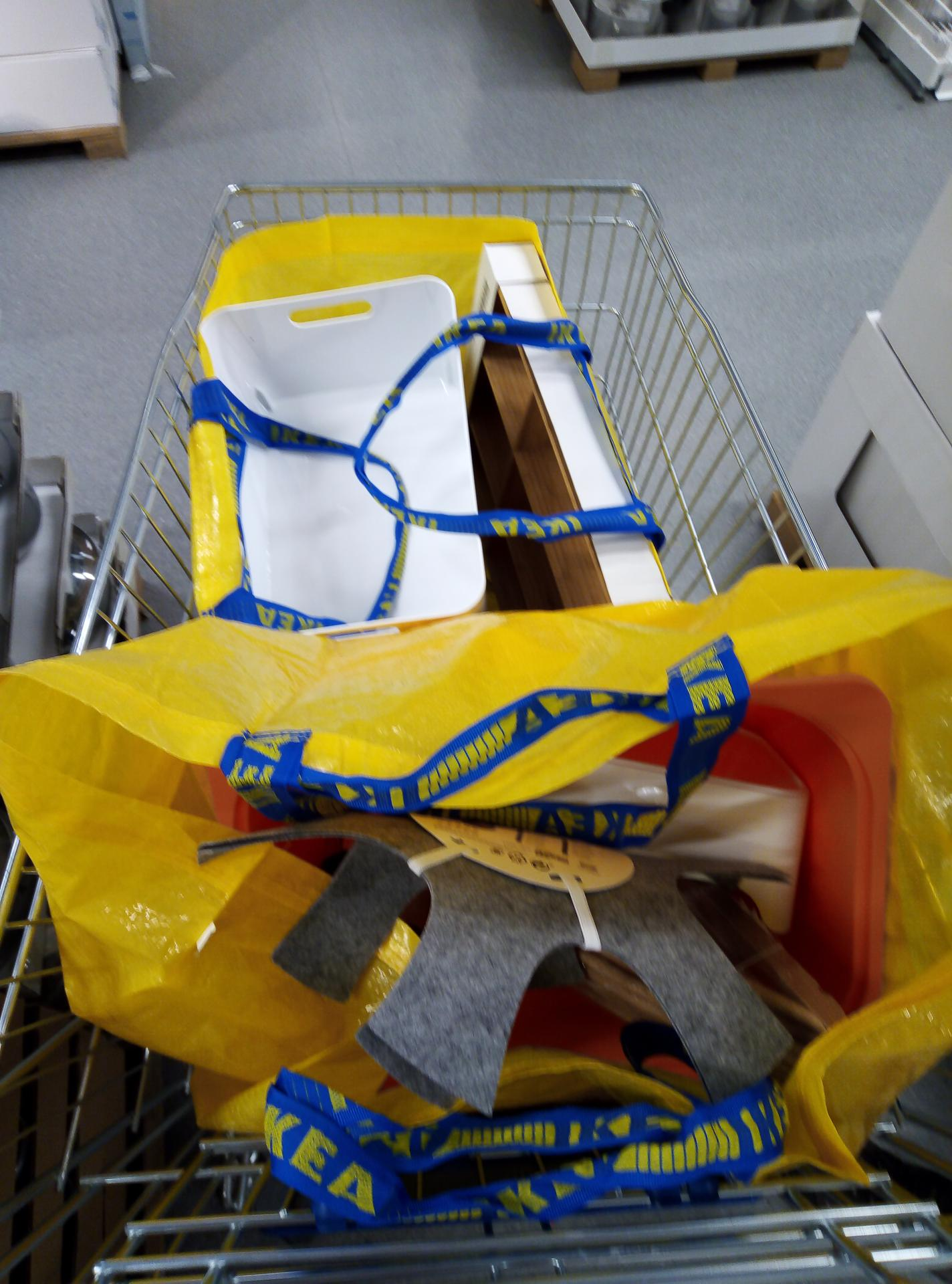 Sen o kuchyni... - Výlet do Ikea...