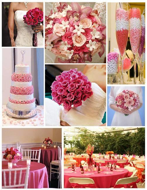 Svadobné prípravy  :) - výzdoba bude ružovo biela