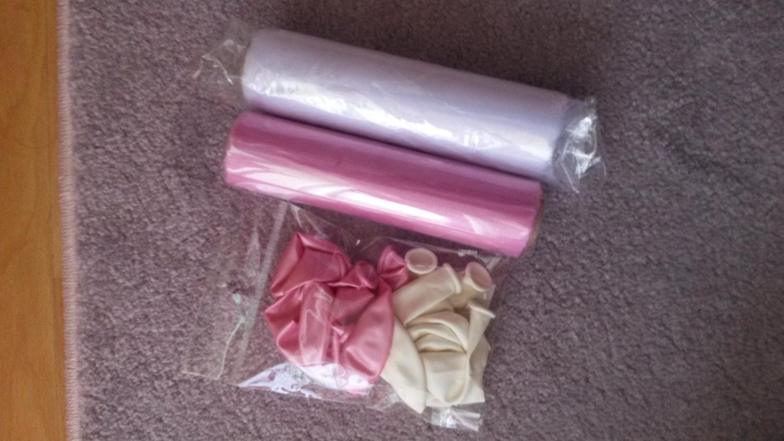 Svadobné prípravy  :) - ružovo biela kombinácia :)