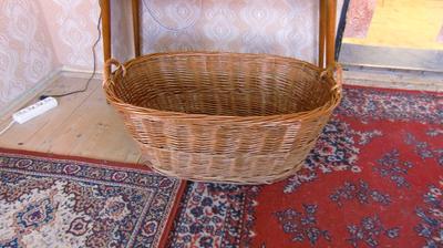 Košíček, s ktorým si pôjdeme do Fiľakova pre našu rotvajlerku