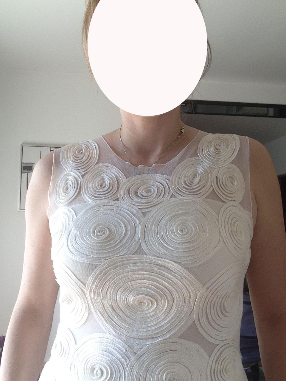 Jednoduché svadobné šaty Phase Eight Clemence - Obrázok č. 4