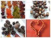 jutovinová jesenná výzdoba,