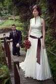Svatební šaty dle návrhu Jesús Peiró, 38