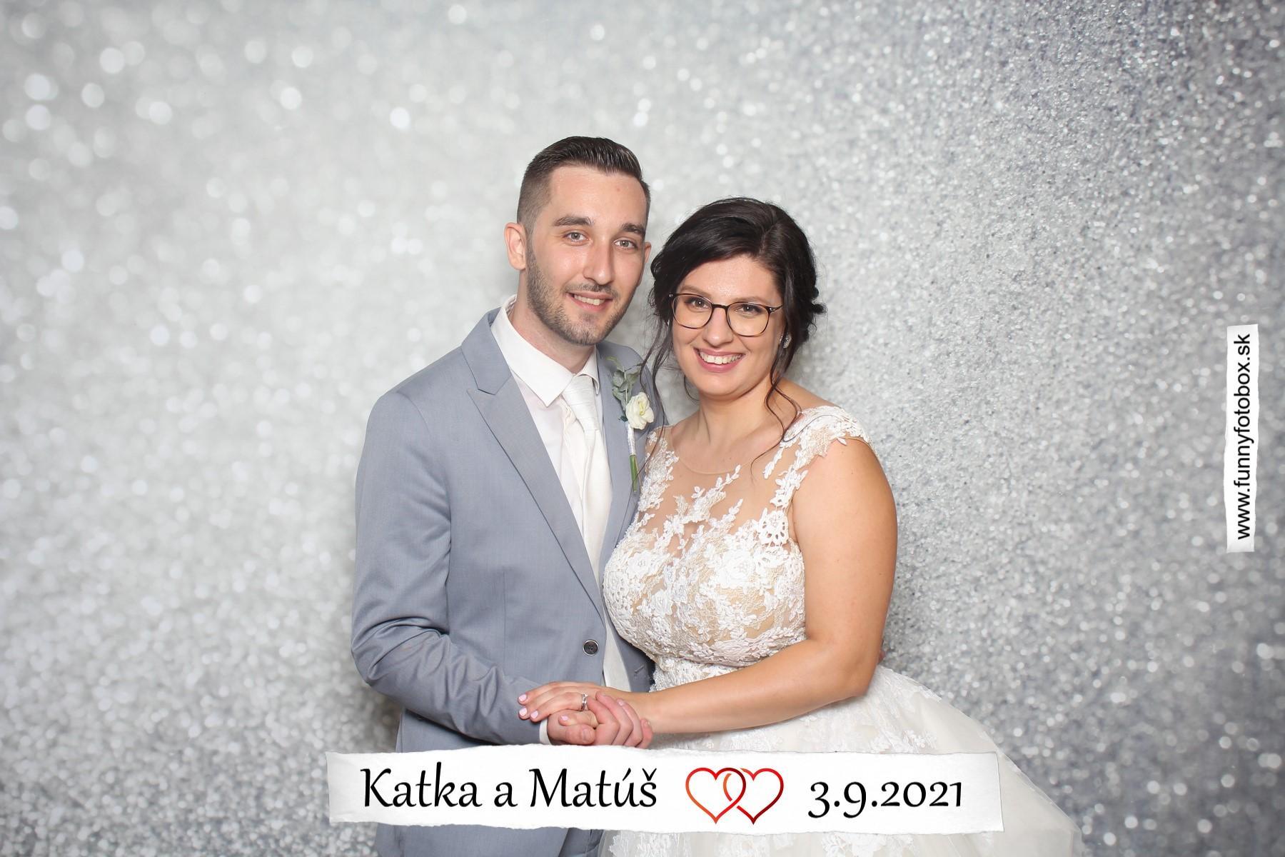Katka  {{_AND_}}  Matúš - My 🥰 Skvelú zábavu nám rozprúdila aj fotobudka. Určite odporúčam 🤩