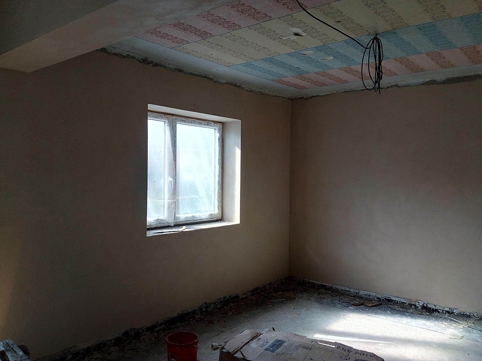 Tak už to bude téměř rok co jsme začali rekonstruovat barák.Už se pomalu ale jistě blížíme ke konci :-) - Obrázek č. 3
