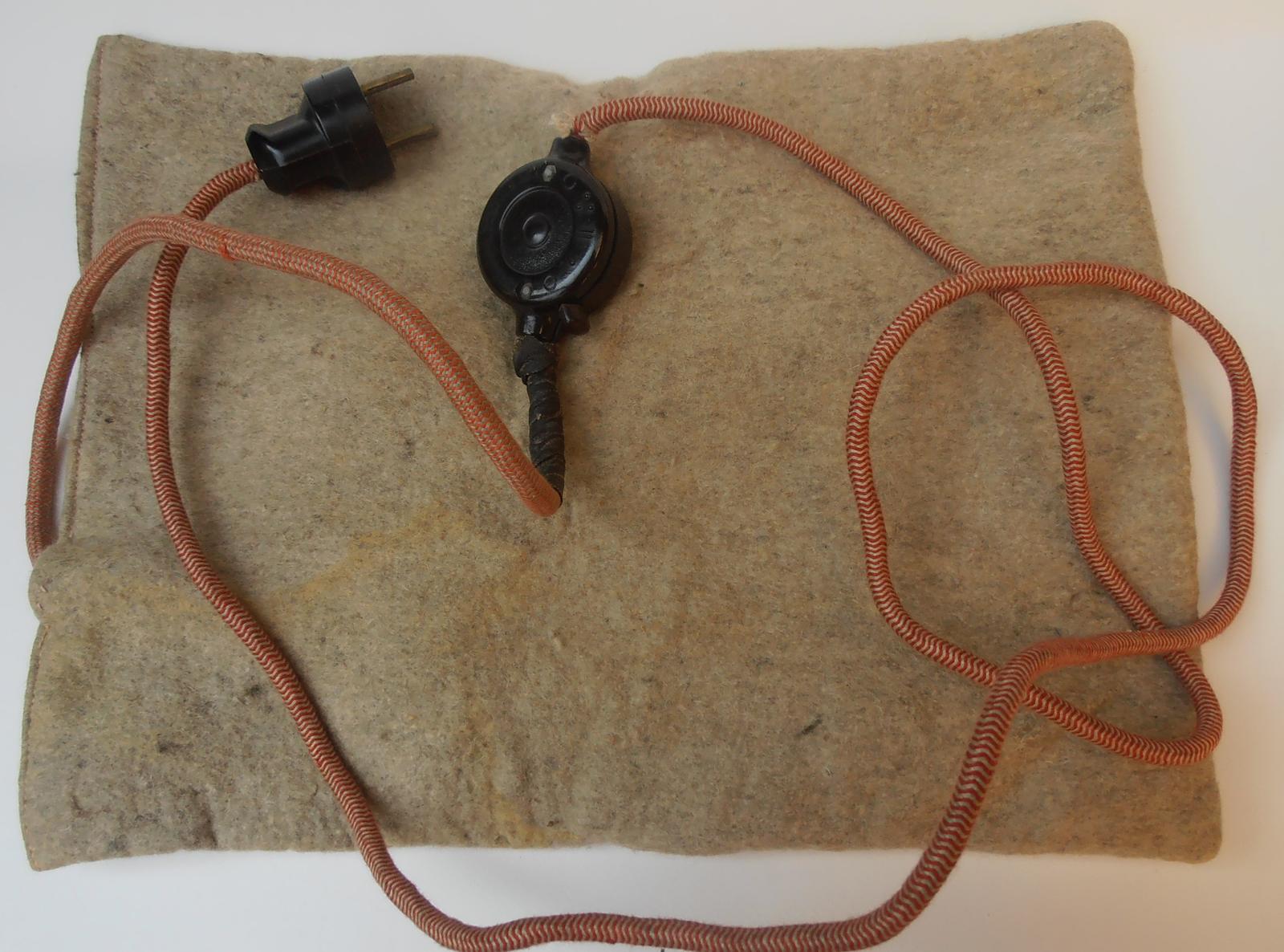 Stará elektrická poduška - Obrázok č. 1