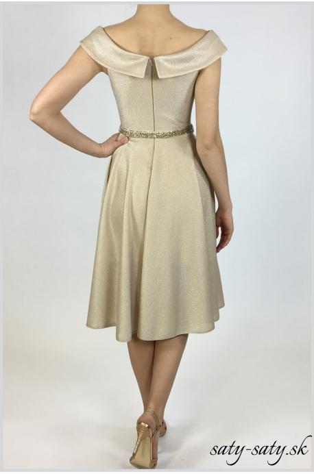 exkluzívne zlaté šaty - Obrázok č. 3