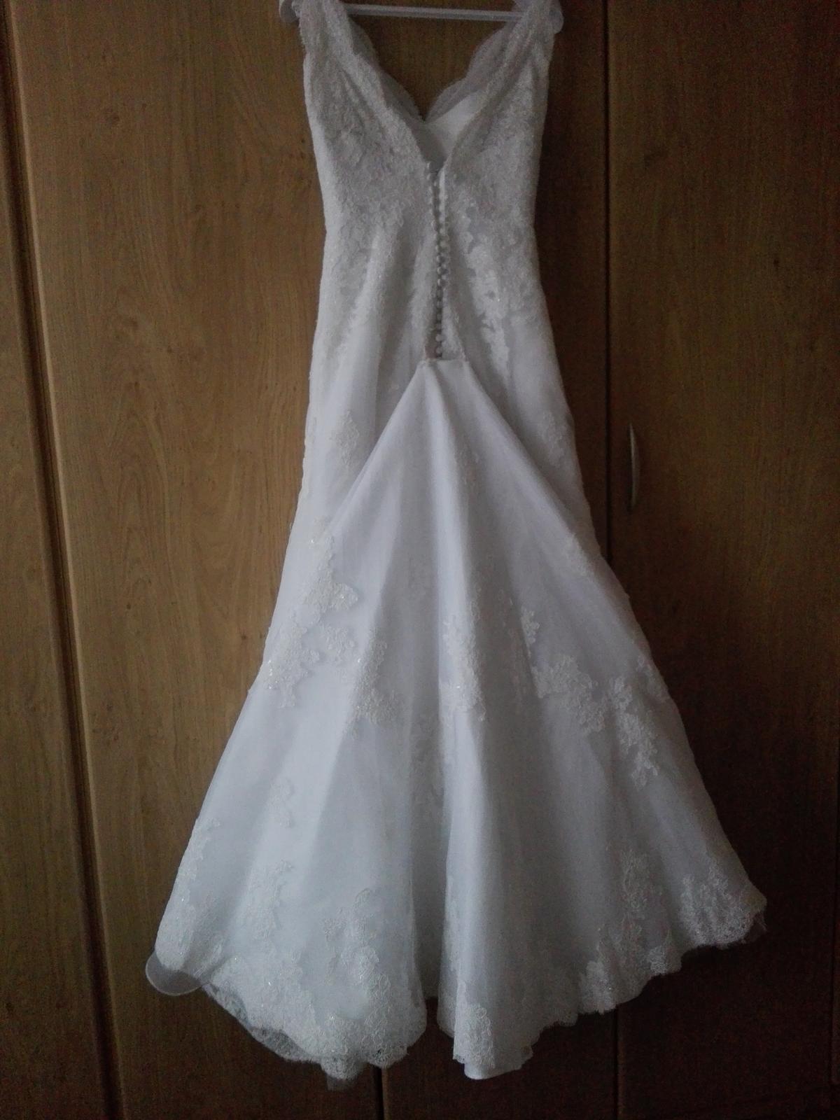Svadobné šaty PRONOVIAS čipkované - Obrázok č. 2
