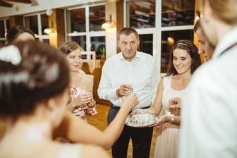 Všetci chemici na svadbe :)