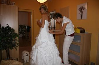 příprava nevěsty :-)