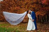svatební šaty+jednokruhová spodnice+zavoj, 40