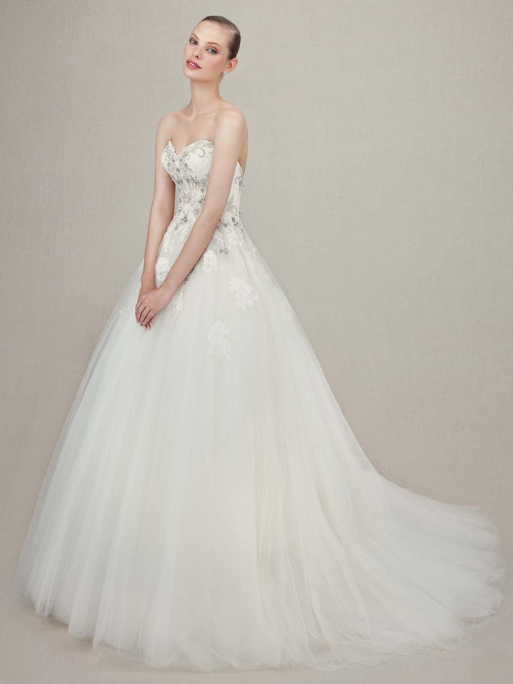 Luxusní svatení šaty ENZOANI - Obrázek č. 2
