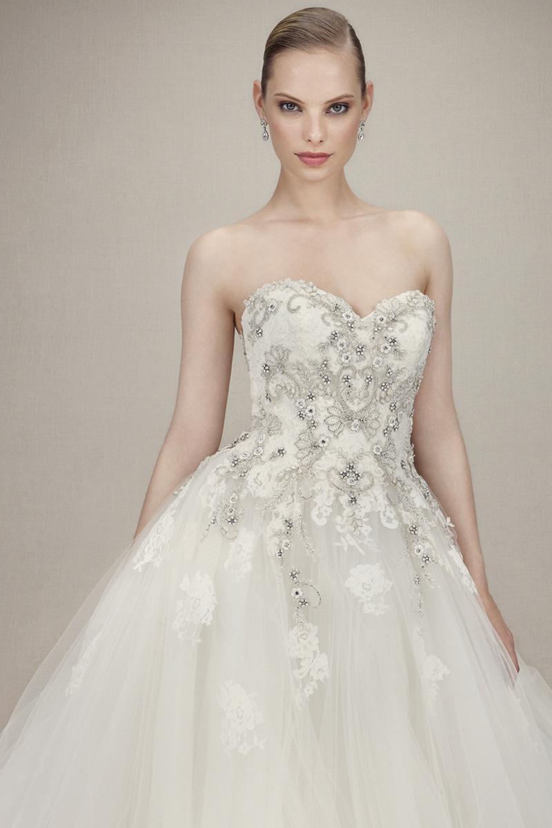 Luxusní svatení šaty ENZOANI - Obrázek č. 1