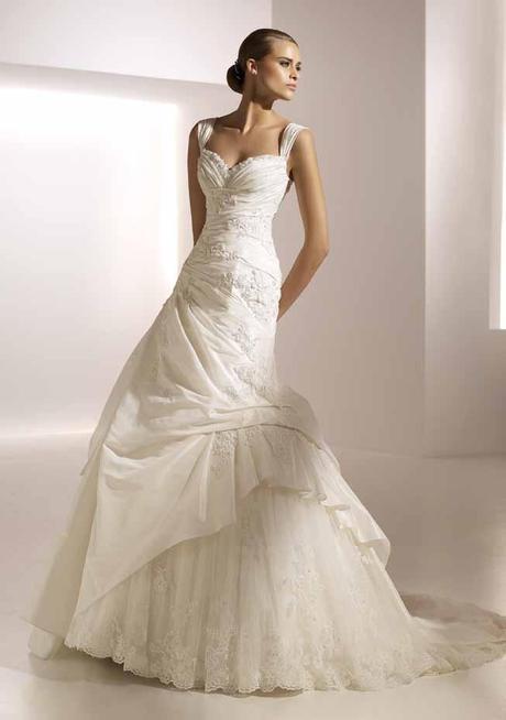 Španělské svatební šaty Mireia od Pronovias - Obrázek č. 1