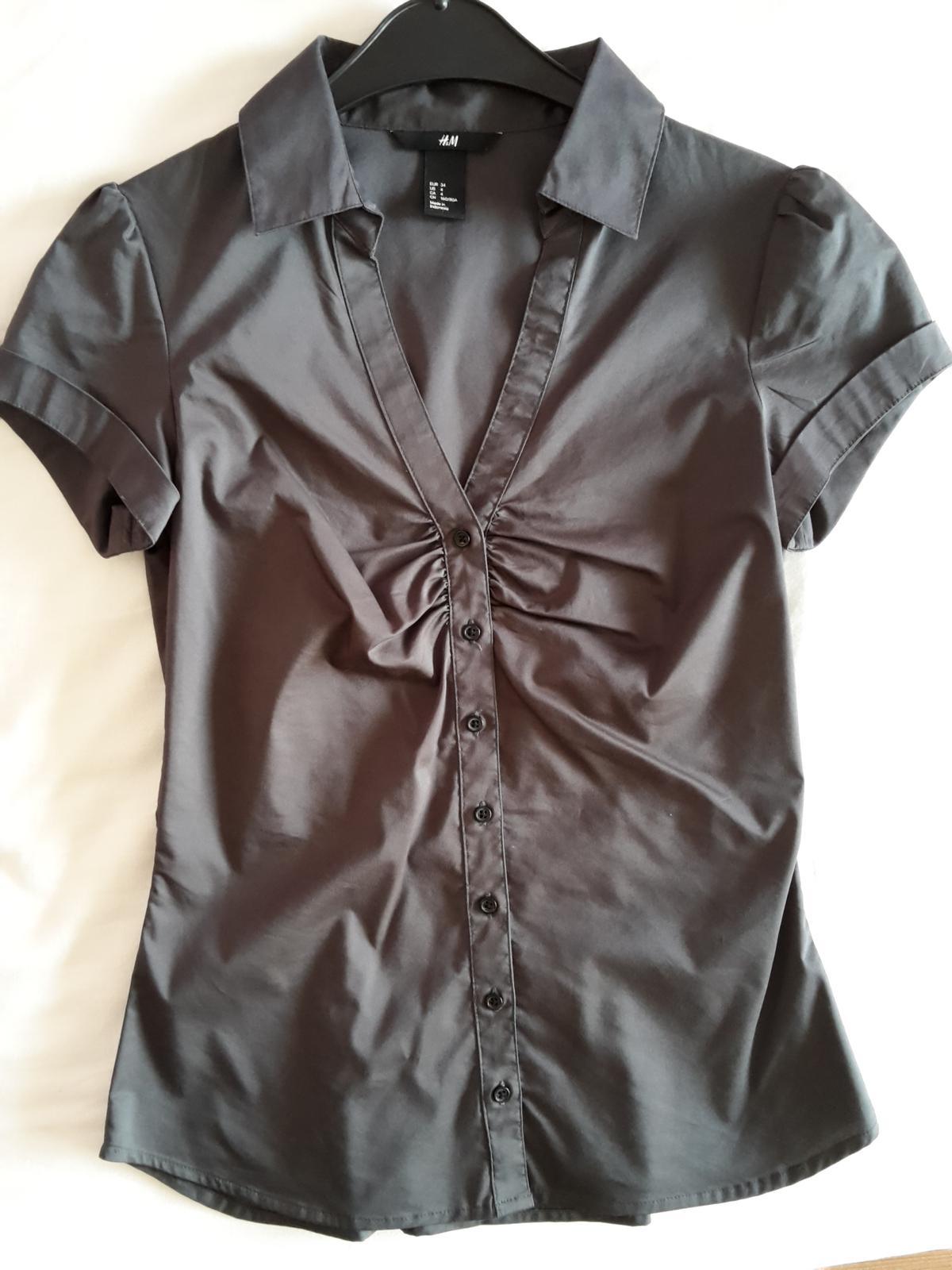 Bluza H&M len oprana - Obrázok č. 1