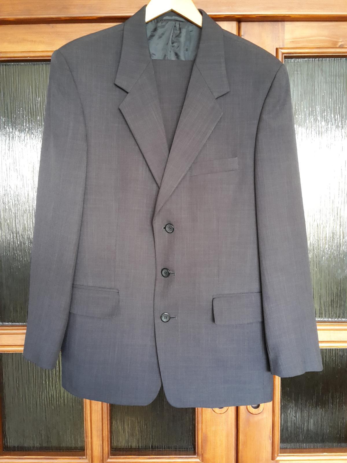 Pansky oblek vel. 48 - Obrázok č. 1