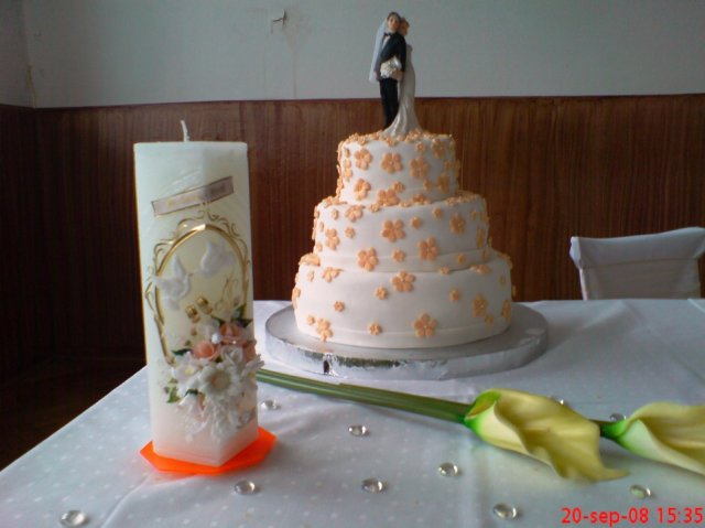Martinka{{_AND_}}Marek - hlavná svadobná torta