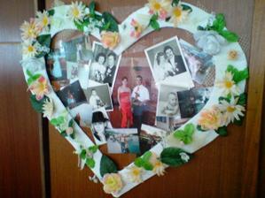 spoločné fotky + svadobné našich rodičov