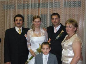 rodičia ženícha a môj malý švagor