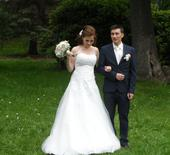 Svatební šaty ala PRONOVIAS, vel. 32-38, 36