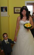 ženich se mi trošku zmenšil:-)