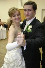 .....prvý manželský tanec....